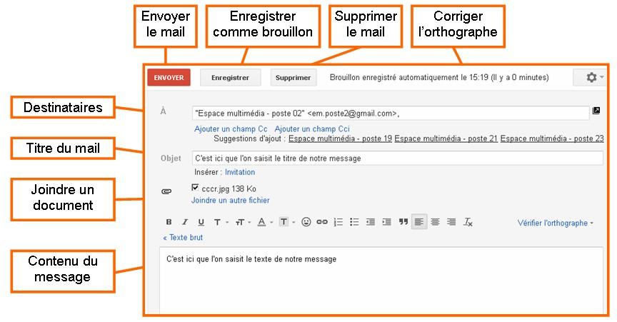 d u00e9couvrir la messagerie  u00e9lectronique avec gmail
