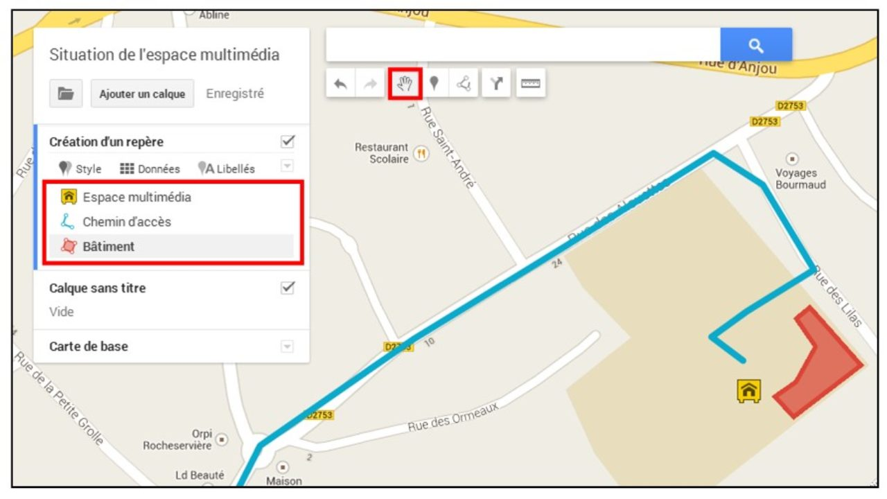 créer une carte avec des repères Créer une carte personnalisée avec Google Map (nouvelle version
