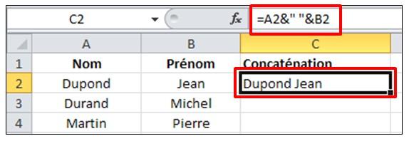 Excel 2010 - formules et fonctions - utiliser l eperluette