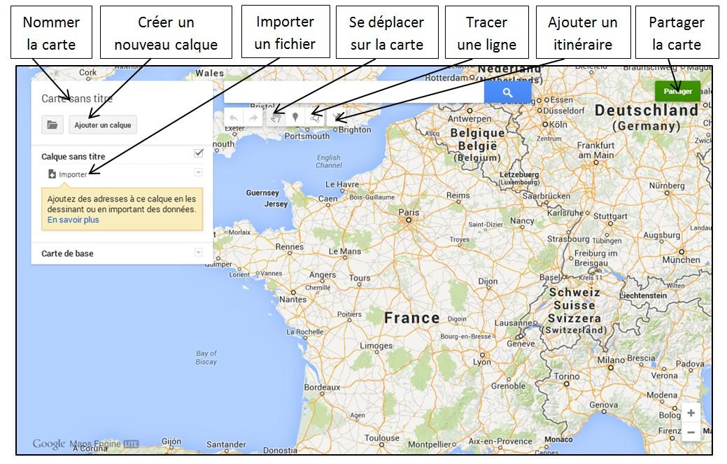 Cr er une carte google maps partir d une liste d - Creer sa carte ...