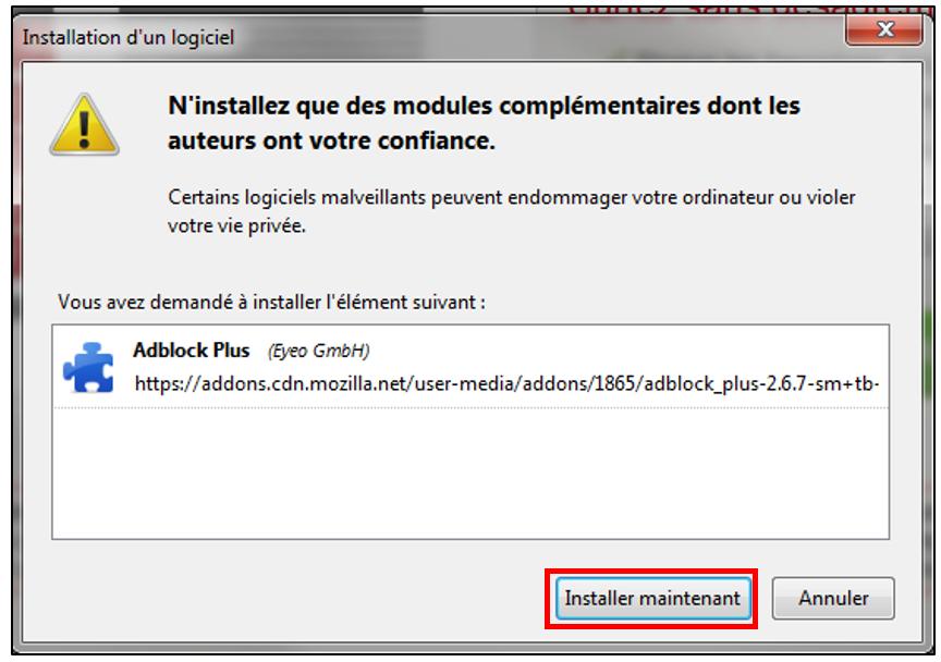 installer adblock firefox