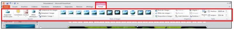 PowerPoint 2010 - objets graphiques et effets d animation - inserer une image