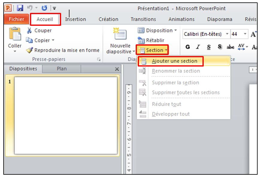 powerpoint 2010  u2013 les bases d u2019un logiciel de pr u00e9sentation