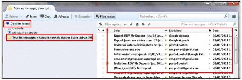 Sauvegarder Gmail sur son Ordinateur avec Google Takeout - lire les mails avec thunderbird