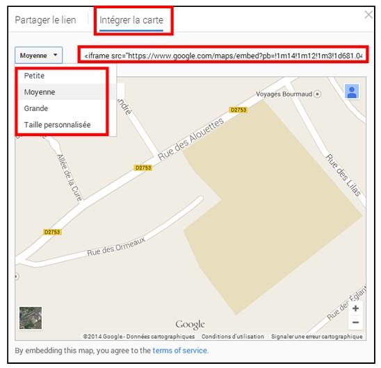 creer une carte personnalisee avec Google Map - integrer une carte personnalisee