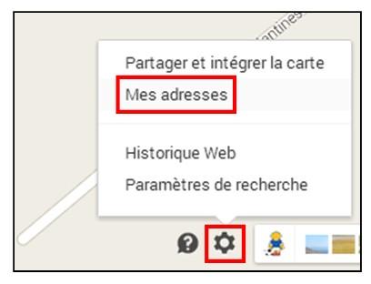 creer une carte personnalisee avec Google Map - modifier une carte personnalisee