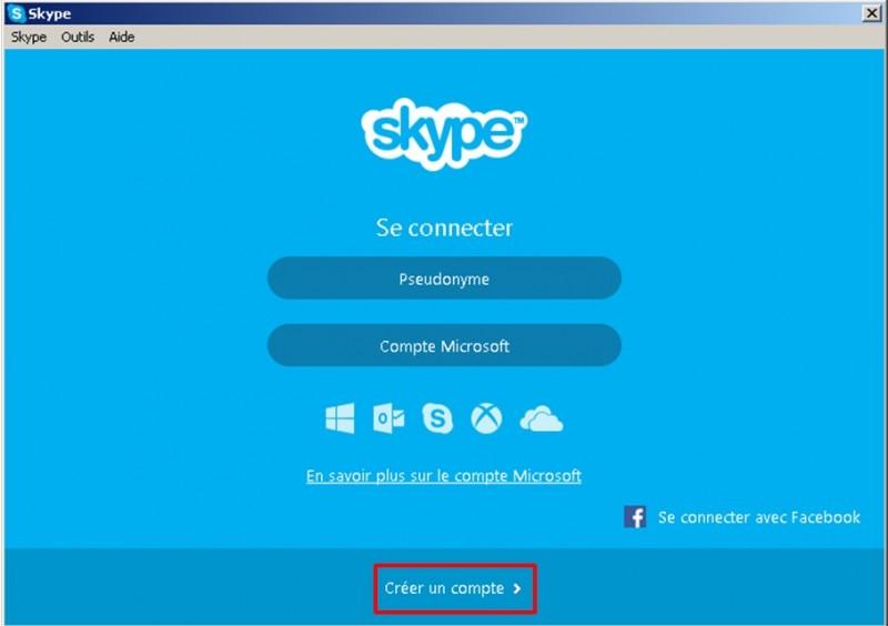 07 - Skype communiquez gratuitement avec vos contacts - Créer un compte Skype