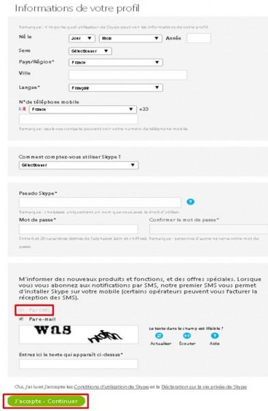 08 - Skype communiquez gratuitement avec vos contacts - information de votre profil