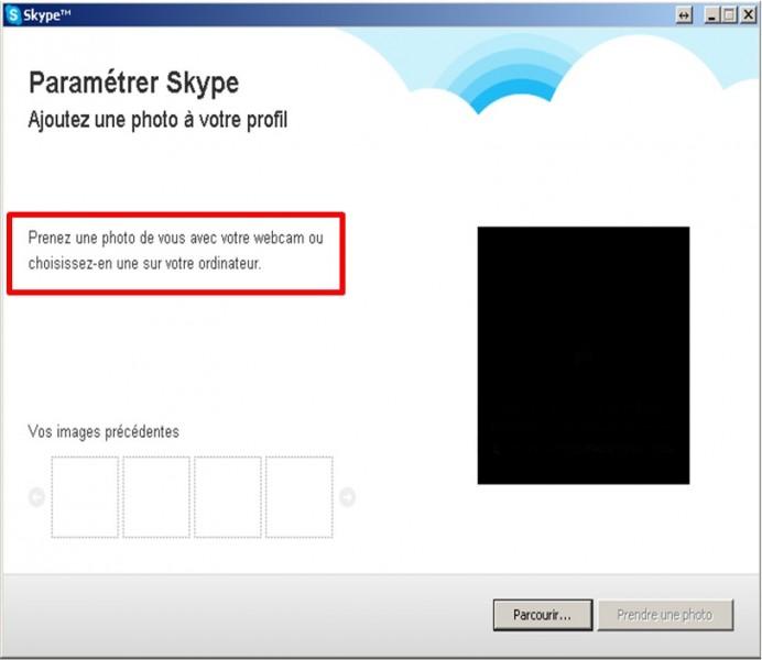 14 - Skype communiquez gratuitement avec vos contacts - parametrer skype prendre la photo de votre profil