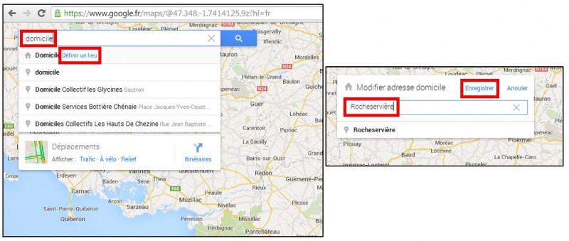 creer des albums photos depuis son mobile avec Google Histoires - ajouter une adresse privee sur Google Maps