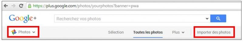 creer des albums photos depuis son mobile avec Google Histoires - ajouter des photos