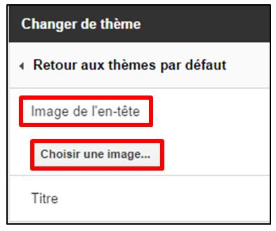 03 - personnaliser le theme d un formulaire Google - modifier l image d en tete