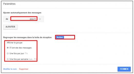 Faciliter la gestion des mails avec Inbox by Gmail - Activer les libelles