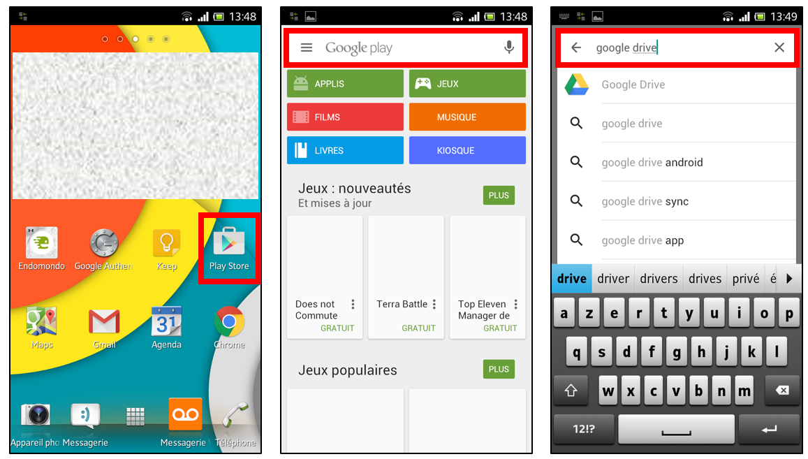 Tlcharger Google Drive Pour Android