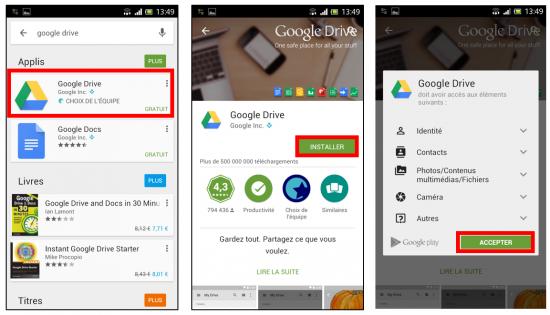 Télécharger Google Drive pour Android