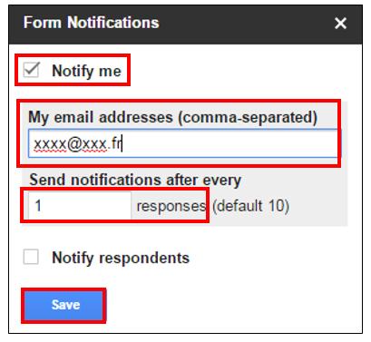 recevoir les mails avec windows 10