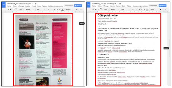 Transformer une image ou pdf en texte