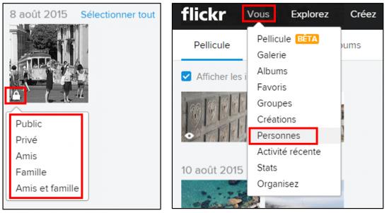 Flickr service de stockage et de partage de photos en ligne - Partager des photos