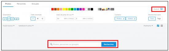 Flickr service de stockage et de partage de photos en ligne - Recherche avancee de photos