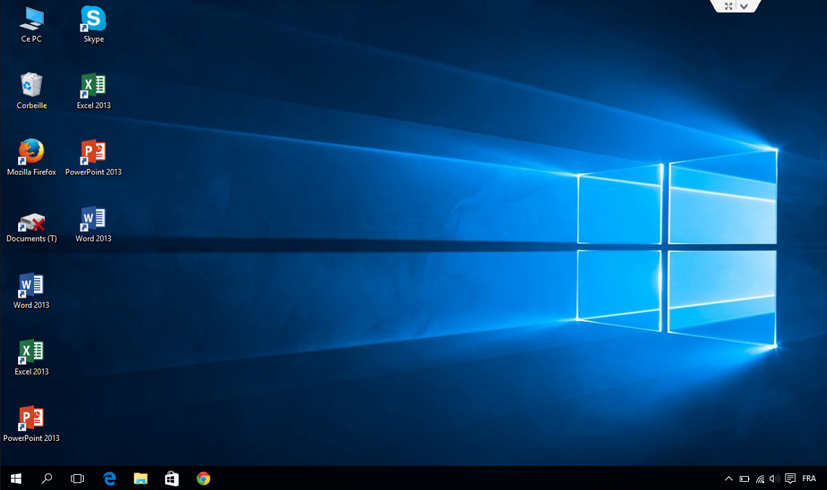 D couverte de l ordinateur avec windows 10 partie 1 je - Afficher ordinateur sur bureau windows 8 ...