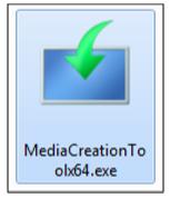 Créer un support d'installation Windows 10 - Démarrer l'outil de création de média