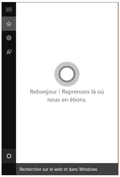 Les principales nouveautés de Windows 10 - L'assistante Cortana