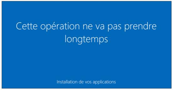 Mise à jour Windows 7 et 8.1 vers Windows 10 - Fin de la mise à niveau