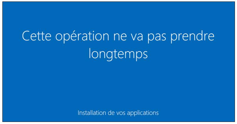 l'assistant d'installation Web de Microsoft Windows 8.1