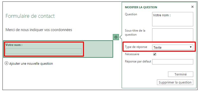 Creer Un Formulaire En Ligne Avec Onedrive Et Excel Online Je Me