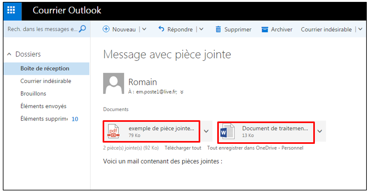 d u00e9couverte de la messagerie outlook d u2019office online