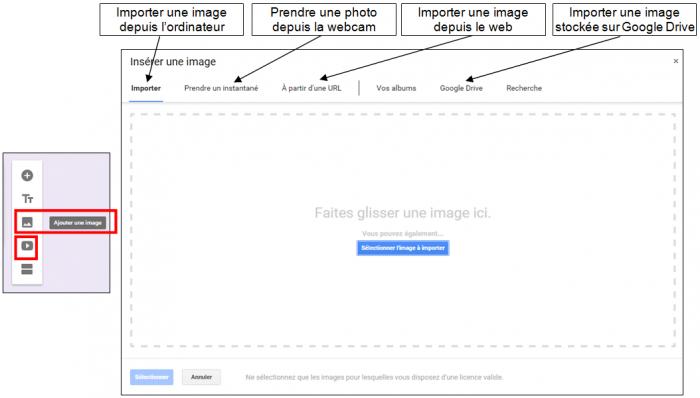 Ajouter une image ou une vidéo