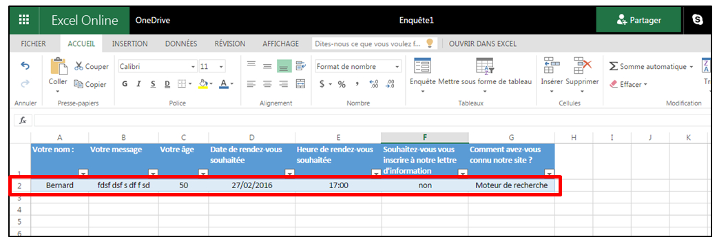 comment faire une base de donn es avec excel. Black Bedroom Furniture Sets. Home Design Ideas