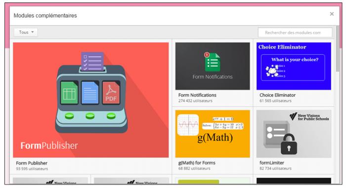 Télécharger des modules complémentaires