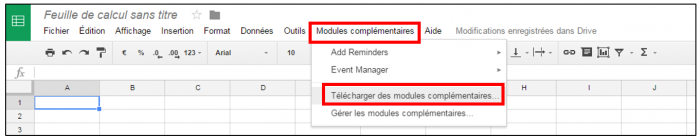 Télécharger le module Mapping Sheets