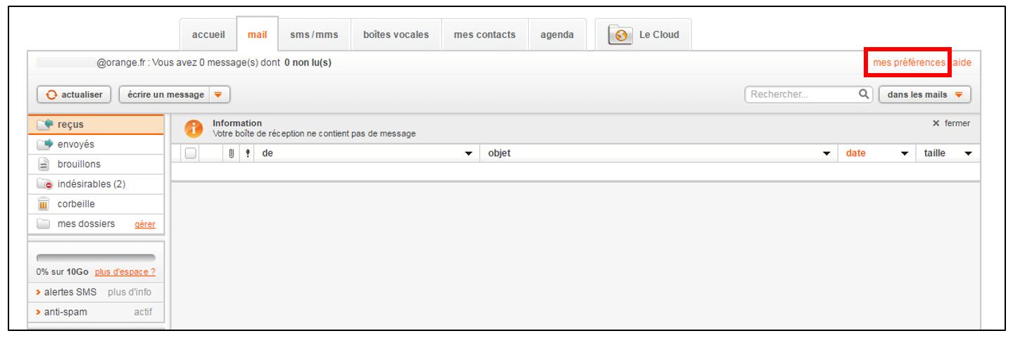 Utiliser Gmail pour consulter sa messagerie Orange - Je me ...  Utiliser Gmail ...