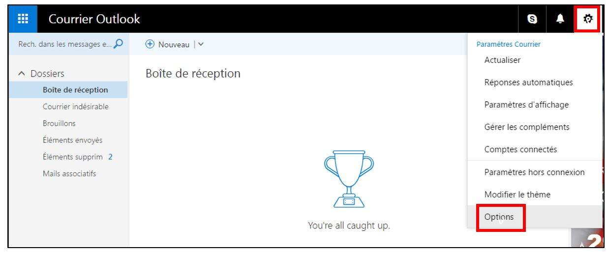 Outlook Office Online Creer Une Signature Electronique Je Me
