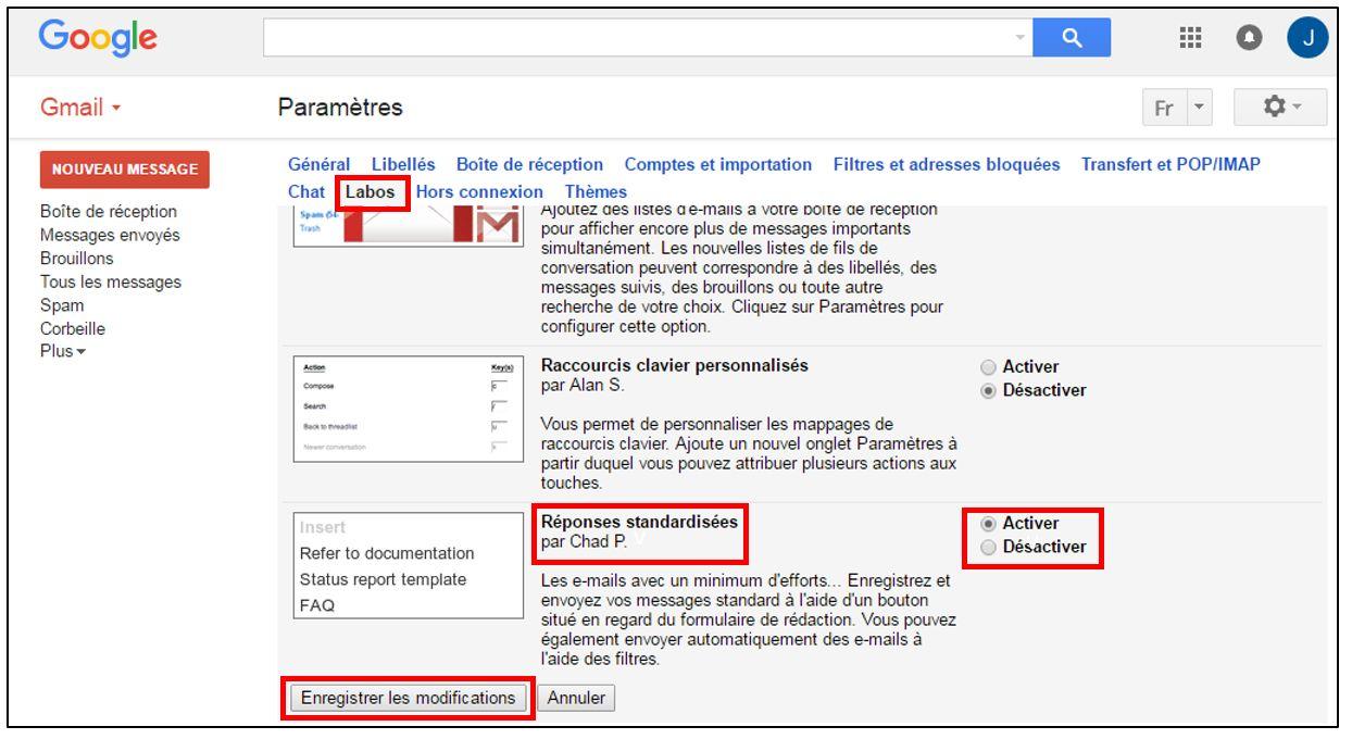 Gmail Utiliser Des Modèles De Mails Prédéfinis Je Me