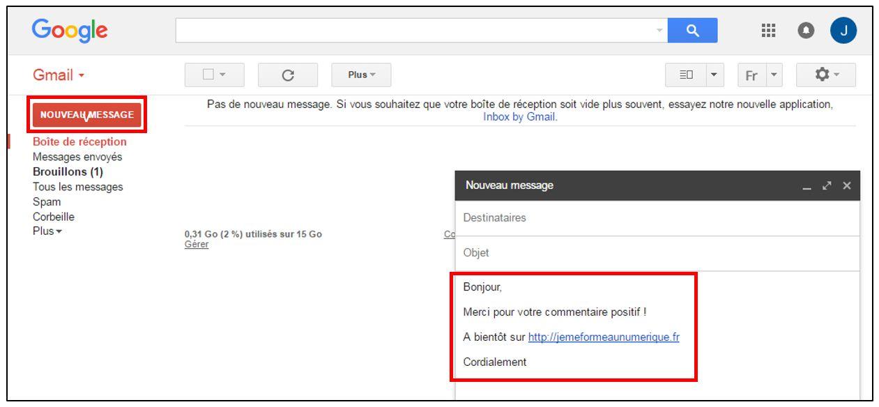 comment ecrire un email professionnel exemple