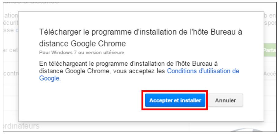 Contrler un ordinateur distance avec Google Chrome Je me