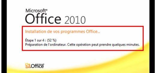 Installation d'Office Starter