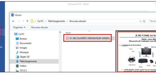 Ouvrir un PDF