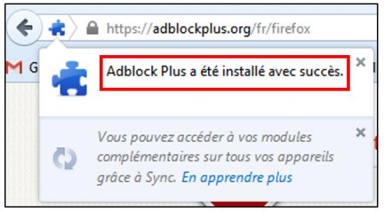 Installer l'application sur Firefox