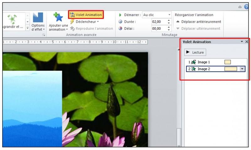 PowerPoint 2010 - objets graphiques et effets d animation - gestion des effets d animation