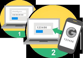 securiser son compte Google avec la validation en 2 etapes - logo