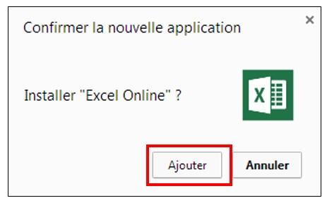 Utiliser les applications sur Google Chrome - installer une application
