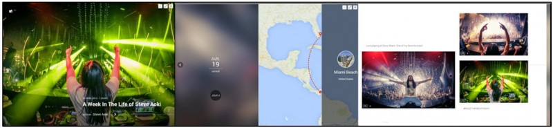 creer des albums photos depuis son mobile avec Google Histoires - exemple