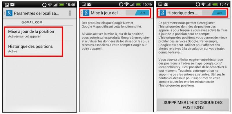 Créer des albums photos depuis son mobile avec Google Histoires - paramétrer son smartphone