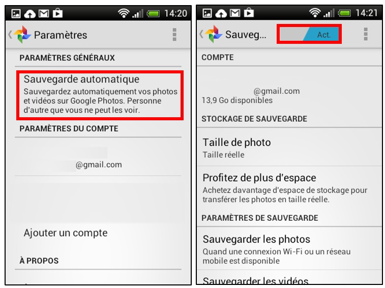 05 - creer des albums photos depuis son mobile avec Google Histoires - parametrer son smartphone