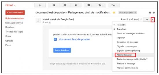 06 - Fonctions avancees de Gmail - trucs et astuces - Enregistrer un mail sur son ordinateur