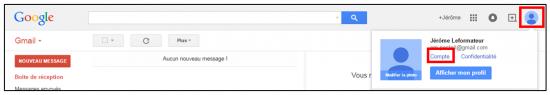 Se connecter à son compte Google